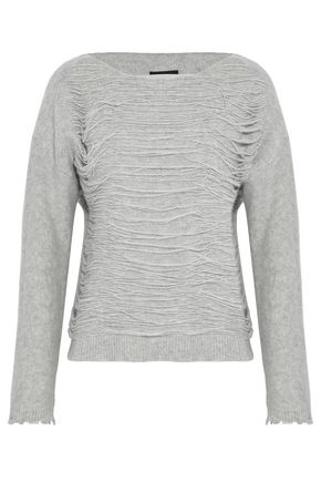 WOMAN CASHMERE SWEATER GRAY