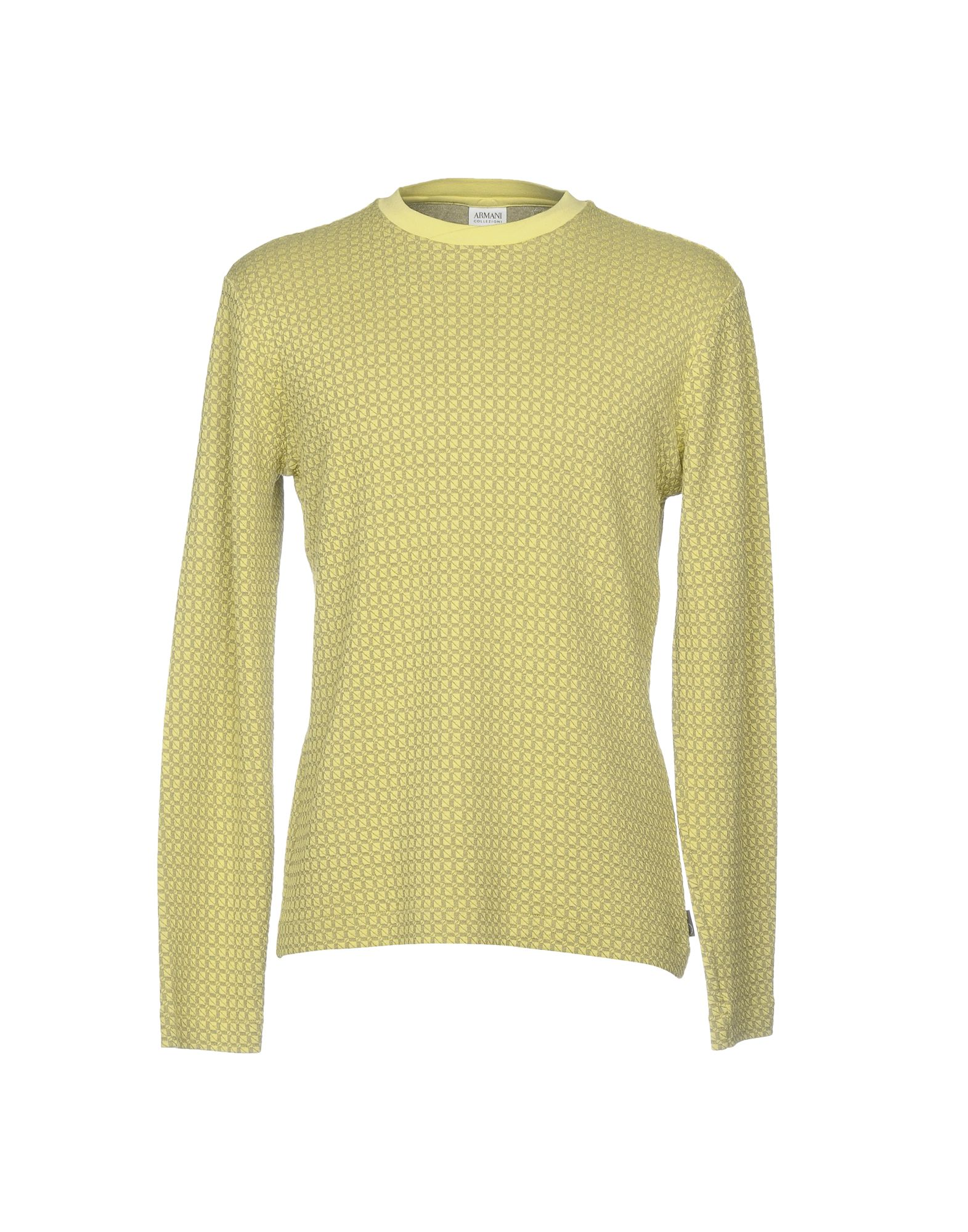 Armani Collezioni Sweater In Acid Green   ModeSens be5d1d87b4