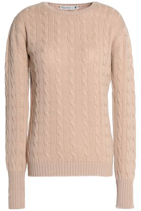 PRINGLE OF SCOTLAND Cable-knit cashmere sweater