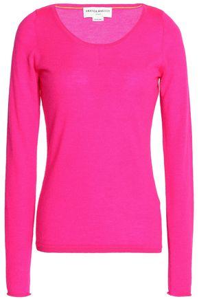AMANDA WAKELEY Neon cashmere sweater