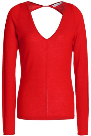 AMANDA WAKELEY Open-back cashmere sweater