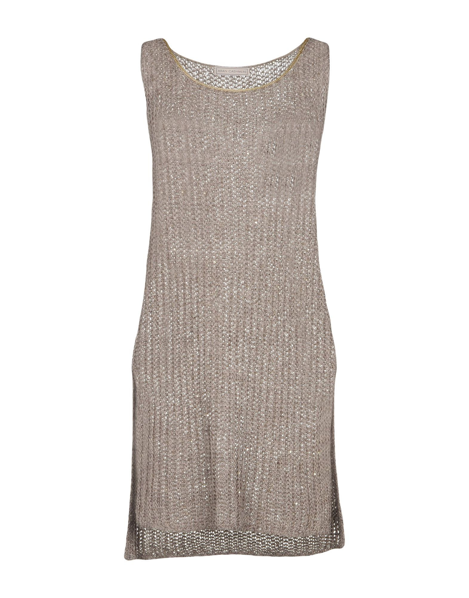 ARAN CASHMERE Sweater in Khaki