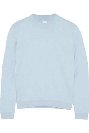 IRIS & INK Charlie cotton and cashmere-blend sweater