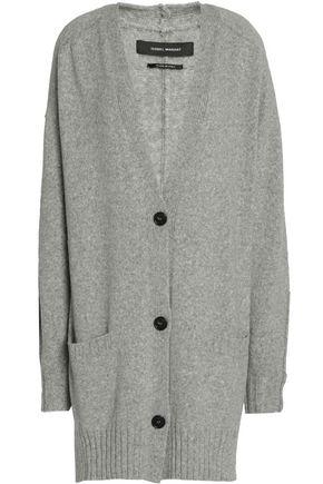ISABEL MARANT Mélange wool-blend cardigan