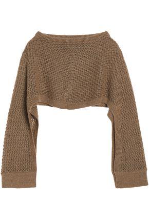 CHALAYAN Open-knit poncho
