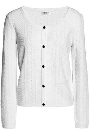 CLAUDIE PIERLOT Pointelle-knit cardigan