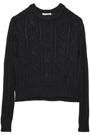 MAJE Cable-knit sweater