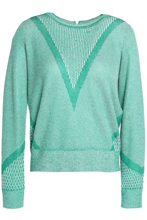 MAJE Cotton-blend sweater