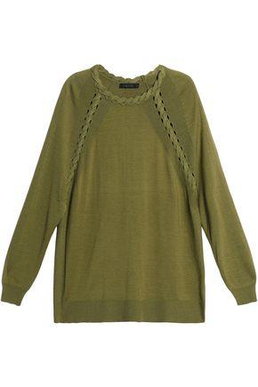 BELSTAFF Cashmere, wool and silk-blend sweater