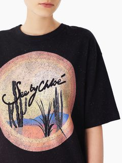 """Sunrise"" elbow-length T-shirt"