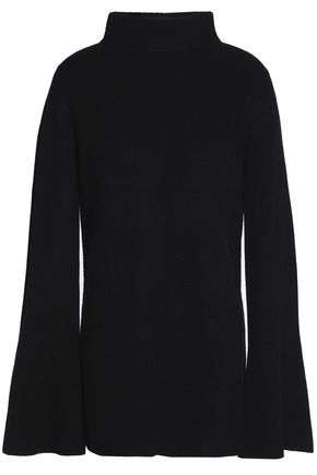 ROBERT RODRIGUEZ Ribbed wool and cashmere-blend turtleneck sweater