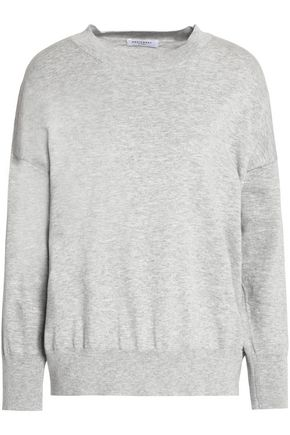 EQUIPMENT Cotton and cashmere-blend top