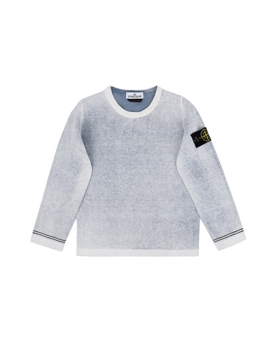 Tricot 502A3 RÉVERSIBLE    STONE ISLAND JUNIOR - 0