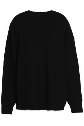 ELLERY Paneled wool-blend sweater