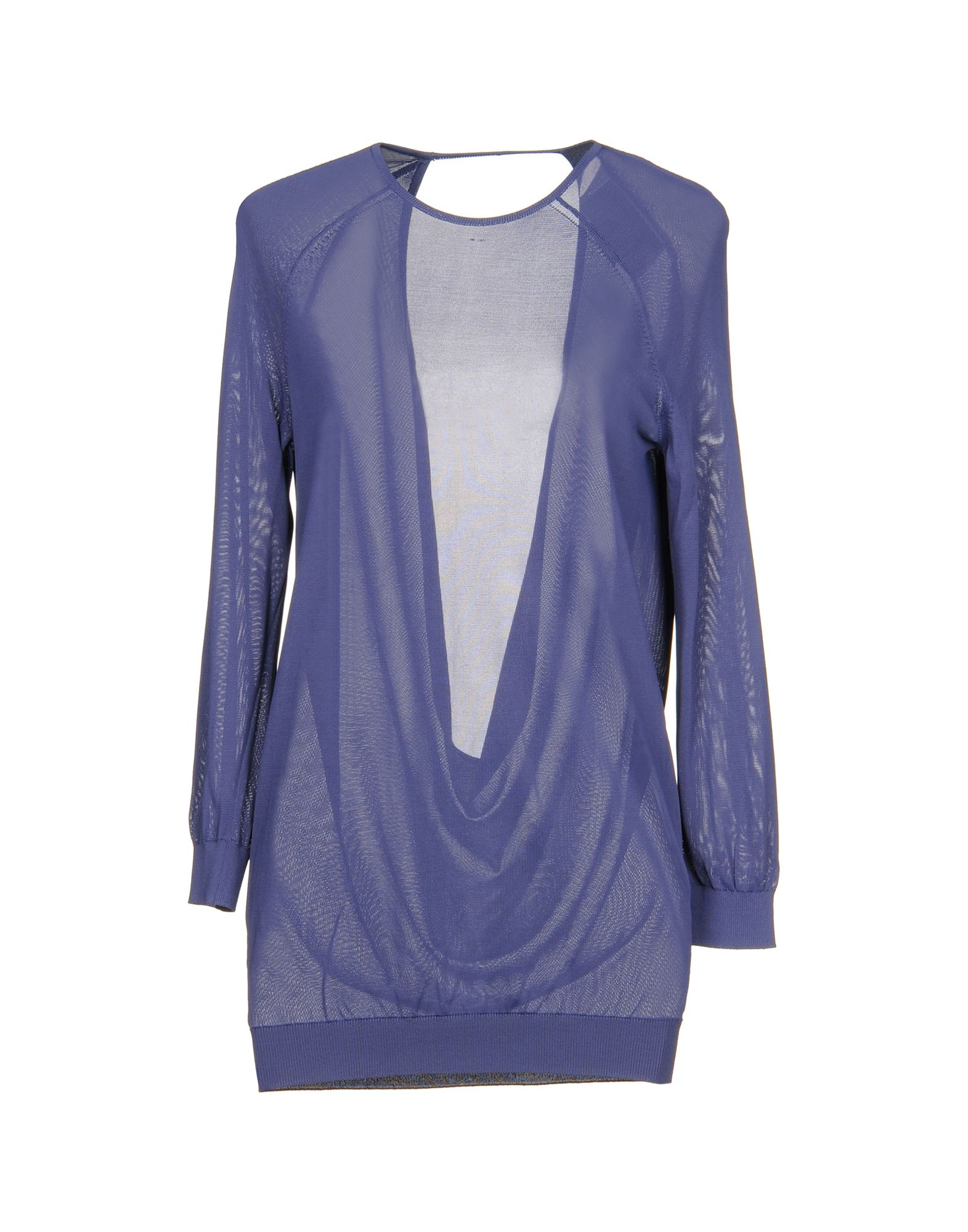 HALSTON Sweater in Purple