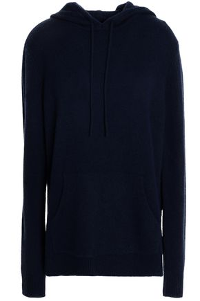 DION LEE Open-back cashmere hooded sweater