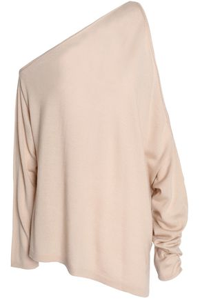 DION LEE Cold-shoulder merino wool sweater