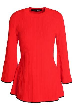 PROENZA SCHOULER Flared stretch-knit top
