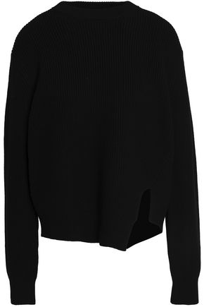 PROENZA SCHOULER Ribbed wool and cotton-blend sweater