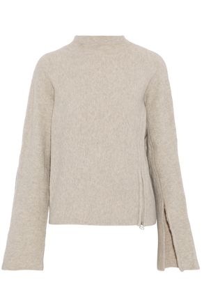 DEREK LAM 10 CROSBY Wool-blend turtleneck sweater