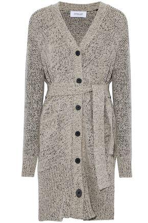 DEREK LAM 10 CROSBY Marled wool-blend cardigan