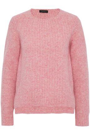 RAG & BONE Mélange ribbed merino wool sweater