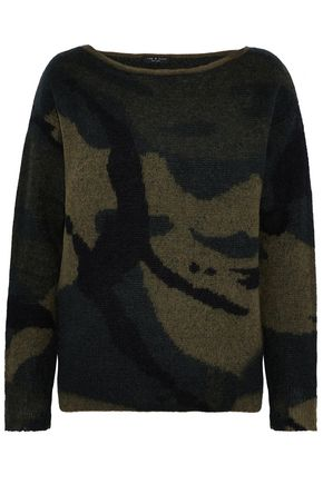 RAG & BONE Intarsia-knit sweater