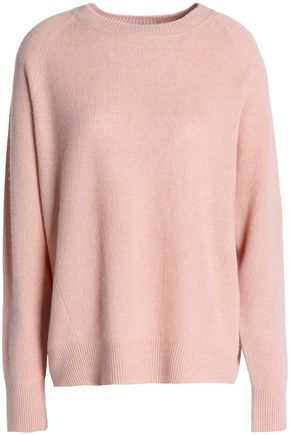 VINCE. Cashmere and linen-blend sweater
