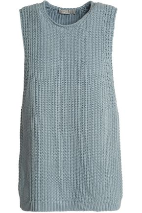 VINCE. Ribbed cotton top