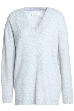 ZIMMERMANN Mélange stretch-knit sweater