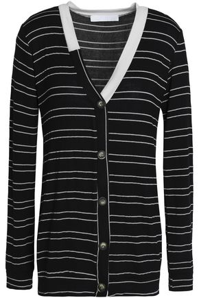 KAIN Striped knitted cardigan