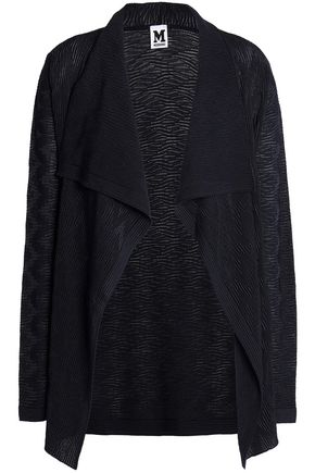 M MISSONI Jacqaurd-knit wool-blend cardigan