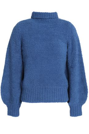 ZIMMERMANN Bouclé-knit wool-blend turtleneck sweater