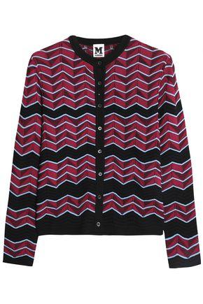 M MISSONI Cotton-blend jacquard-knit cardigan