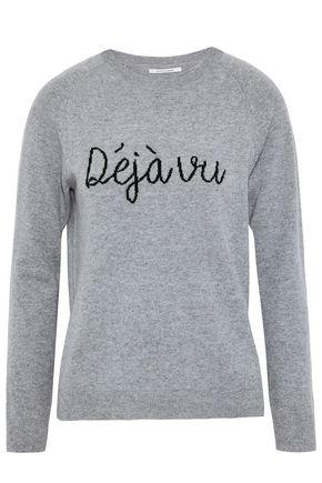 CHINTI AND PARKER Mélange cashmere-jacquard sweater