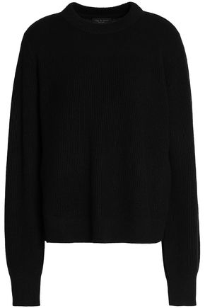 ribbed-cashmere-sweater by rag-&-bone