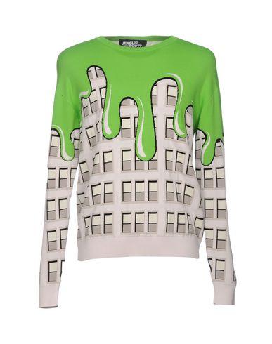 Купить Мужской свитер JEREMY SCOTT зеленого цвета