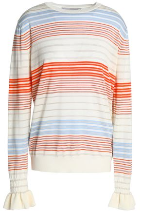 STELLA McCARTNEY Striped wool top