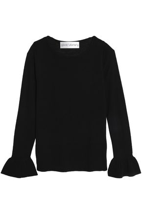 GOAT LIBRARY Fluted knitted sweater