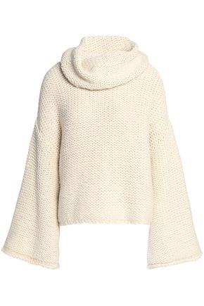 ALICE + OLIVIA JEANS Alpaca-blend turtleneck sweater