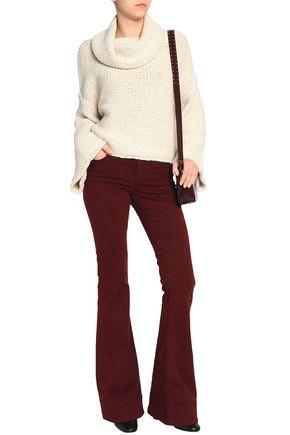 ALICE + OLIVIA Alpaca-blend turtleneck sweater