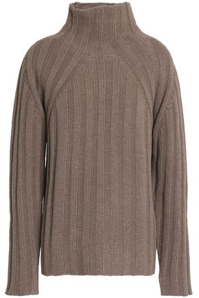 SEA Ribbed wool turtleneck sweater