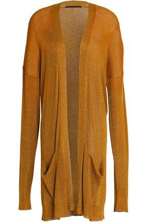 HAIDER ACKERMANN Metallic stretch-knit cardigan