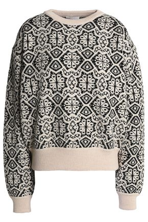 CHLOÉ Wool jacquard sweater