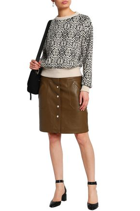 CHLOÉ Wool jacquard sweater