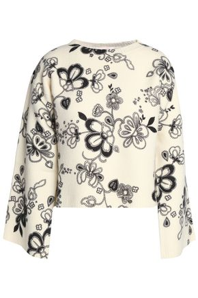 SEE BY CHLOÉ Printed wool sweater