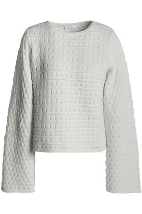 SEE BY CHLOÉ Pointelle-knit cotton sweater