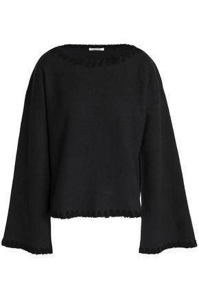 SEE BY CHLOÉ Ribbed-knit brushed-wool top