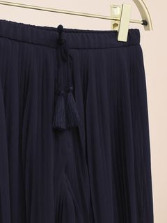 Pantalon plissé
