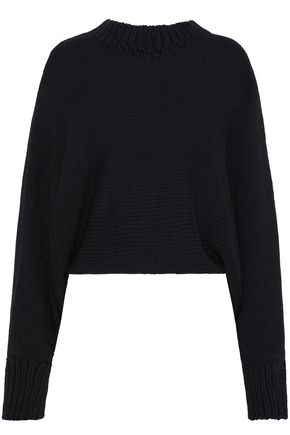 ROSETTA GETTY Cropped knitted sweater